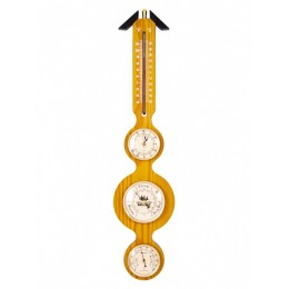 "Метеостанция настенная ""BRIGANT"": барометр, термометр, гигрометр 57см"