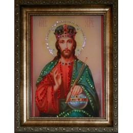 """Икона Swarovski """" Христос Вседержитель"""""""