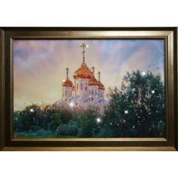 """Картина Swarovski """"В лучах солнца"""""""