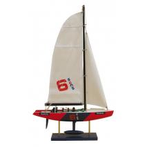 """Модель гоночной Яхты """"Transiciel"""" 56см"""