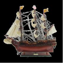 """Модель парусника """"Bon Homme Richard """", США"""