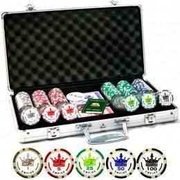 """Набор для покера на 300 фишек """"Empire 300"""""""