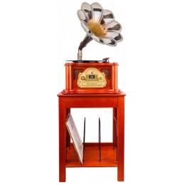 """Граммофон ретро-центр 6 в 1 Ricatech RMC360 """"Grand"""" со столиком"""
