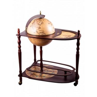"""Глобус-бар напольный со столиком """"Кортес"""""""