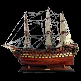 "Модель парусника ""La Bretagne"", Франция"