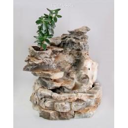 Напольный фонтан «Водопад денежное дерево»