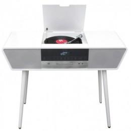 Проигрыватель виниловых дисков ретро-центр Soundmaster NR995WE УЦЕНКА