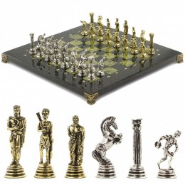 """Подарочные шахматы """"Олимпийские игры"""" 32х32 см змеевик"""