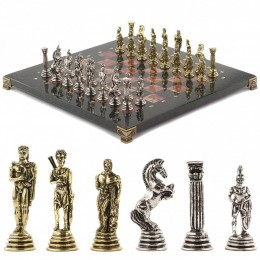 """Шахматы """"Греко-Римская война"""" 32х32 см лемезит"""