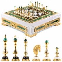 """Эксклюзивные шахматы """"Императорские"""" ручная работа"""