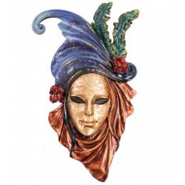 """Венецианская маска Veronese """"Маки"""" (разноцветная) WS-333"""