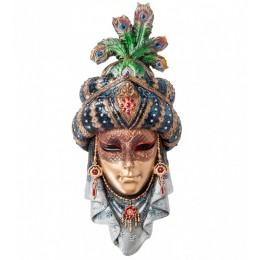 "Венецианская маска Veronese ""Шахерезада"" (разноцветная) WS-365"