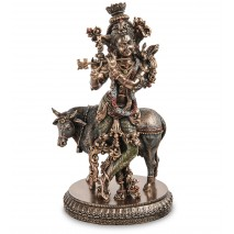 """Подарочная Статуэтка """"Кришна - божество в индуизме"""" WS-1115"""
