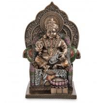 """Подарочная Статуэтка """"Кубера - индусский бог богатства"""" WS-1113"""
