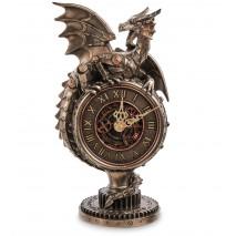 Часы настольные в стиле Стимпанк Дракон WS-1071