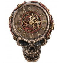 """Часы настенные в стиле Стимпанк """"Череп"""" WS-1066"""