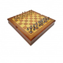 "Шахматы Italfama ""Стаунтон Мини"" 36х36 см."