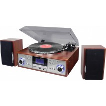 Проигрыватель виниловых дисков ретро Roadstar HIF-8899BT