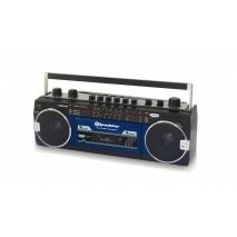 Ретро музыкальный центр Roadstar RCR-3025EBT Blue Bluetooth