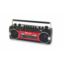 Ретро музыкальный центр Roadstar RCR-3025EBT Red Bluetooth