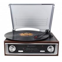 """Подарочный Проигрыватель виниловых дисков """"Nostalgic Record Player"""" Soundmaster PL196H"""