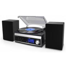 Подарочный Проигрыватель виниловых дисков ретро Soundmaster MCD1820SW