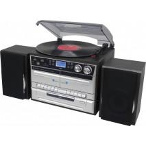 """Подарочный Проигрыватель виниловых дисков Soundmaster MCD5550SW """"Ностальгия"""""""