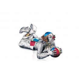 "Подарочная Статуэтка Mida Argenti ""Клоун лежащий на мяче"" h23 см."