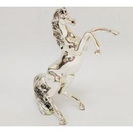 """Подарочная статуэтка Principi Argenti 21 """"Конь на дыбах"""""""