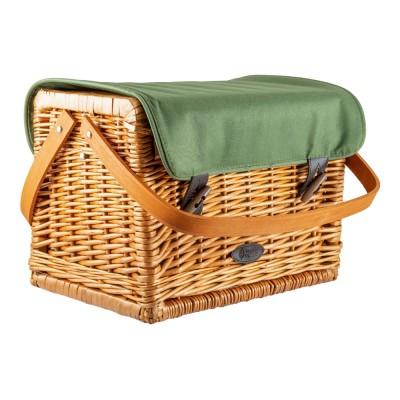 """Набор для пикника в плетеном корзине """"Grun gras"""" на 2 персоны"""