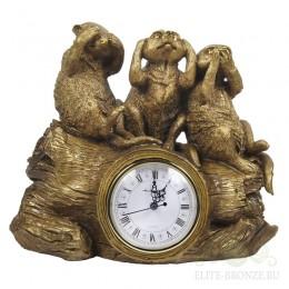 "Каминные часы ""Сурикаты"""
