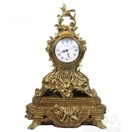 """Каминные часы под бронзу в классическом стиле """"Классика Гранд"""" №2"""