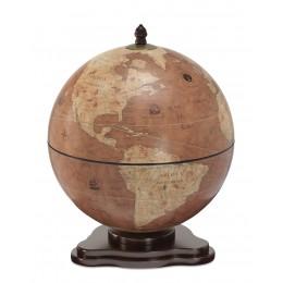 """Настольный глобус-бар """"Galileo Rust"""""""