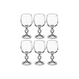 Набор бокалов для вина из 6 шт. Клаудия 190 мл.высота 14,5 см.