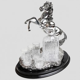 """Набор для водки """"Лошадь"""""""