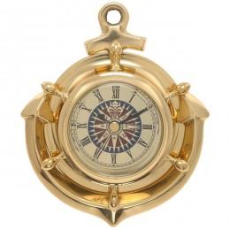 Настенные часы, L10 W3,5 H12,5 см (RO672554)