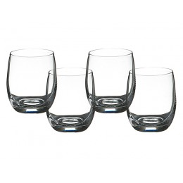 Набор стаканов для виски из 4 шт. Бар 300 мл.
