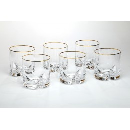 Набор стаканов для виски из 6 шт. Трио 410 мл.