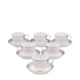 """JK- 02 Чайный набор на 6 перс.""""Каприз Примадонны"""" (Pavone)"""