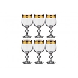 Набор бокалов для вина из 6 шт. Клаудия 230 мл