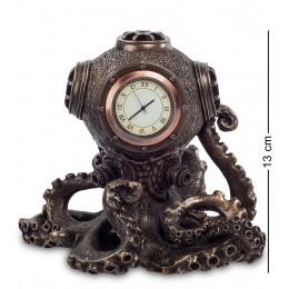 """WS-189 Статуэтка-часы в стиле Стимпанк """"Осьминог"""""""
