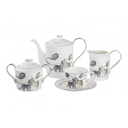 Чайный сервиз на 6 персон 15 пр. 1000/150 мл.