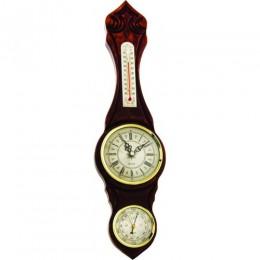 Часы с барометром настенные