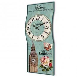 Настенные часы, L25 W6,5 H60,5 см (RO609622)