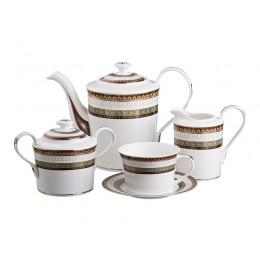 "Чайный сервиз на 6 персон 15 пр. ""Леонардо"" 1300/250 мл."