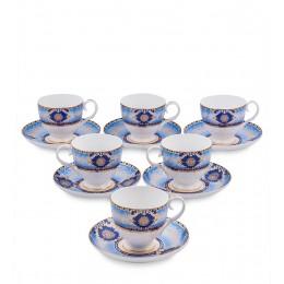 JK- 15 Чайный набор на 6 перс.''Флоренция'' (Pavone)