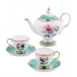 JK- 24 Чайный набор на 2 перс.''Цветок Неаполя'' (Pavone)