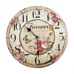 Часы настенные диаметр 35 см.