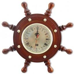 Часы в виде штурвала настенные