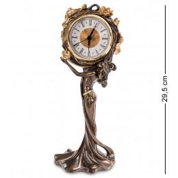 """WS-687/ 2 Часы """"Девушка и лотосы"""""""